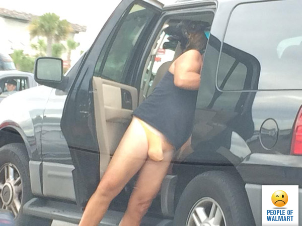 looks like you u0027re smuggling a whole bunch of bananas in there buddy  blue skies out thighs out am i right  the banana hammock   people of walmart   people of walmart  rh   peopleofwalmart