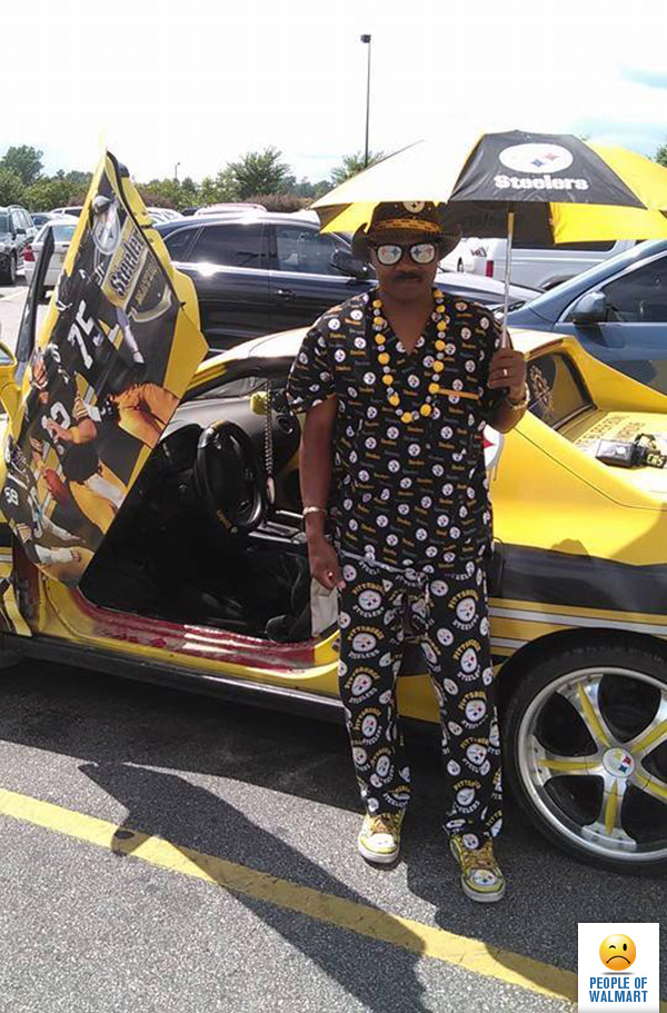 Probably Pimped That Thing All The Way Up To Canton To Watch My Boy The Bus Jerome Bettis Get Inducted Into The Pro Football Hall Of Fame