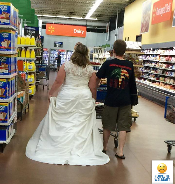 Fantastic people walmart shoppers certainly not