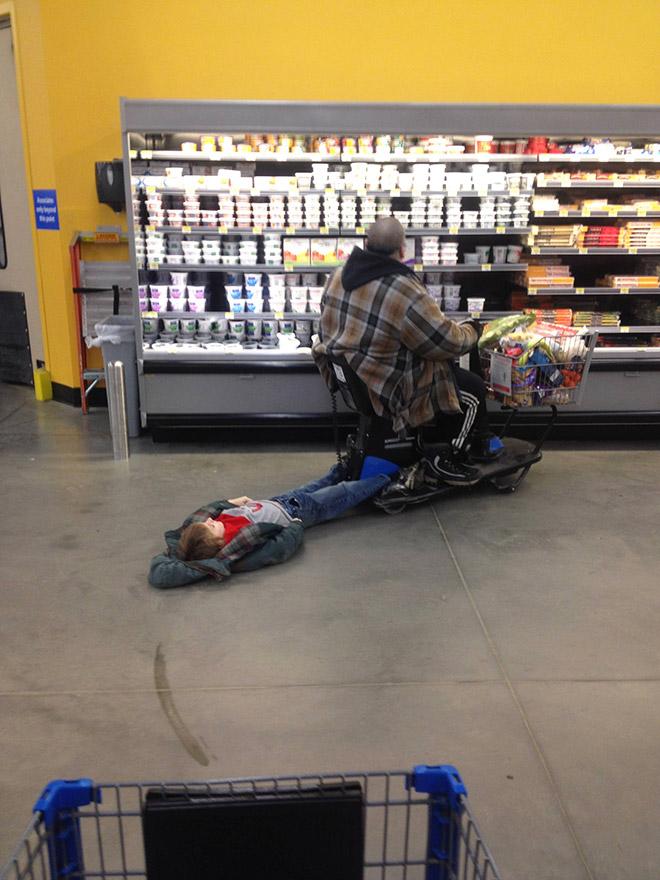 the lazy walmart