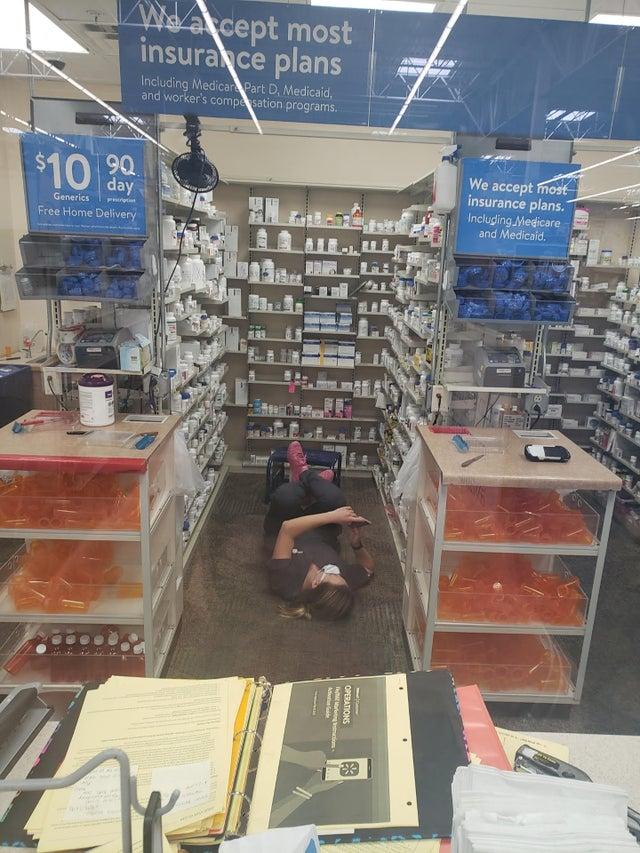 Chilling Pharmacist
